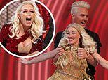 Denise Van Outen VOMITED from the pain of her shoulder fracture after Sunday's Dancing On Ice