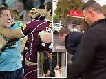State of Origin star Luke O'Donnell charged with assaulting police officer