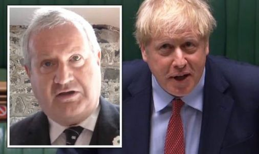 SNP's Ian Blackford sees brazen power grab swiftly ignored by Boris in fiery PMQs clash