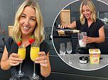 Jules Sebastian wows with her two-ingredient recipe for the 'easiest summer cocktail ever'