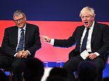 Boris Johnson woos business chiefs including Bill Gates at glitzy conference