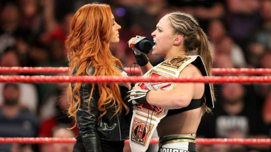 Ronda Rousey blasts 'fire-crotch' Becky Lynch in x-rated WWE 2K Battlegrounds rant