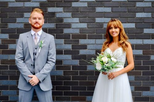 Corrie star says soap's first socially distant wedding proved 'tricky' to film