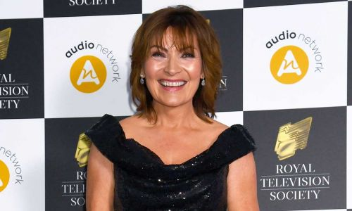 Lorraine Kelly's glittery suit on Friday's show is perfect for party season