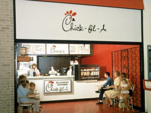 THEN AND NOW: How Chick-fil-A has changed through the years