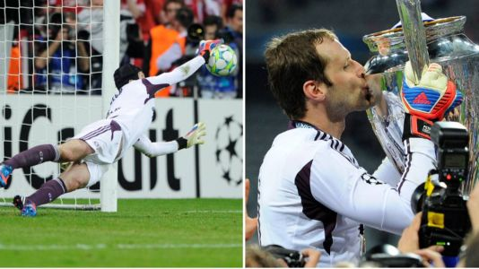 """""""Have a few clips on the VHS cassette"""" - Petr Cech explains how he used to prepare for penalty shootouts"""