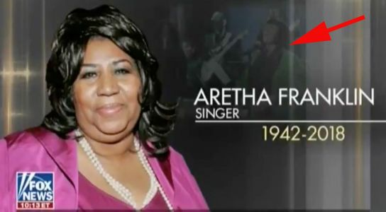 Fox News paid tribute to soul legend Aretha Franklin with a photo of Patti Labelle