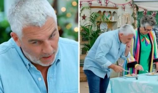 Paul Hollywood nervous as he grills Bake Off contestant over 'raw' showstopper: 'Mushy