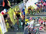 First stage of Tour de Poland overshadowed by horror crash for Dutch rider Fabio Jakobsen