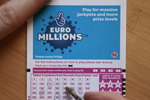 Winning Lotto numbers for Friday's £46m EuroMillions jackpot