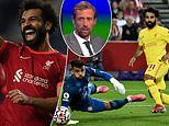 Mohamed Salah's goalscoring ability at Liverpool is 'becoming ridiculous', says Peter Crouch