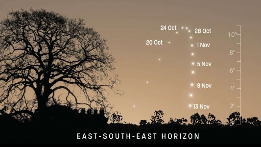 See Mercury at its morning best