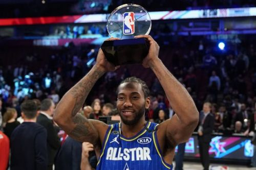 Magic Johnson and Kawhi Leonard lead tributes to Kobe Bryant at NBA All-Star Game