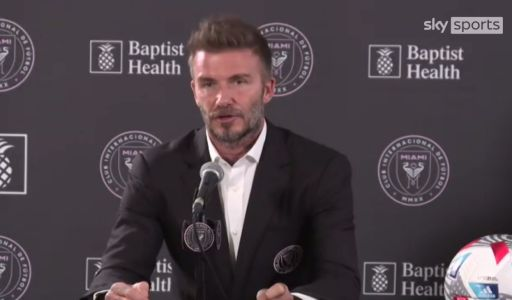 David Beckham defends decision to hire fellow Manchester United legend Phil Neville as Inter Miami boss