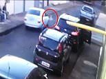Toddler survives being knocked down and run over by a car in Brazil
