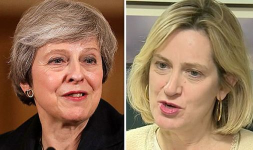 'Are you May's SECRET weapon?' Rudd claims PM 'will survive' before swipe at Brexiteers