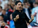 Mikel Arteta hails 'special day' and praises Arsenal fans following a tough start to the campaign