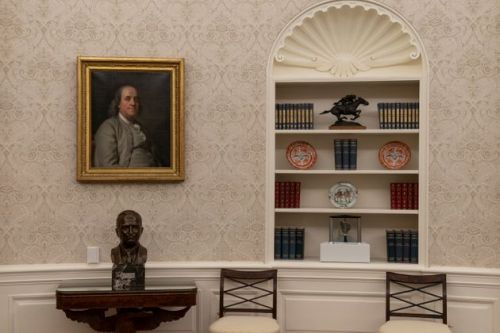 Here's How Joe Biden Redecorated The Oval Office