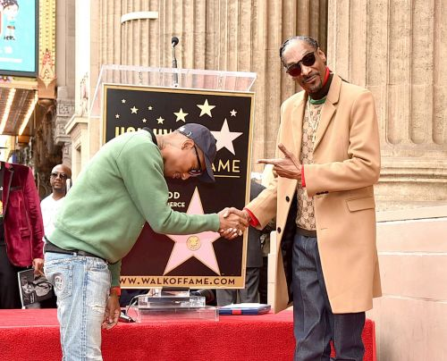 Snoop Dogg explains why he thanked himself in his Hollywood Walk of Fame speech and now we want him to be President