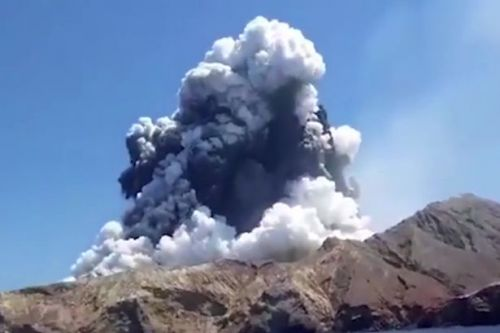 New Zealand volcano: At least one British tourist among missing after eruption