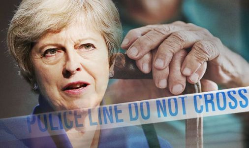 Theresa May vows to protect elderly from 'appalling' crimes with tough laws