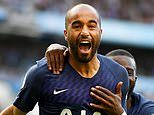 Manchester City 2-2 Tottenham: Lucas Moura scores with first touch to rescue point for Spurs